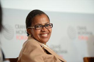 Masire Mwanba african women forum jean paul carteron femmes africaines crans montana forum