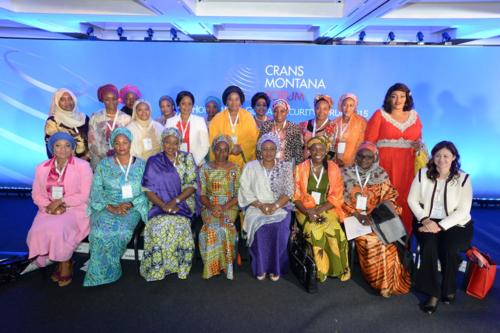 jean-paul carteron, crans montana forum, african women's forum, femme africaine, monaco ambassadors club, irina bokova
