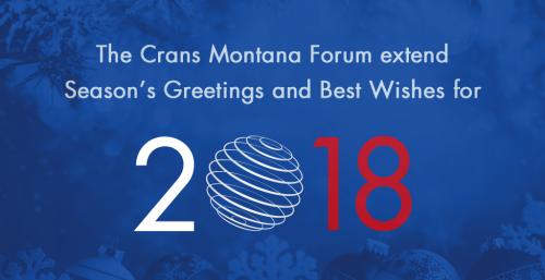 Jean-Paul Carteron, Crans Montana Forum
