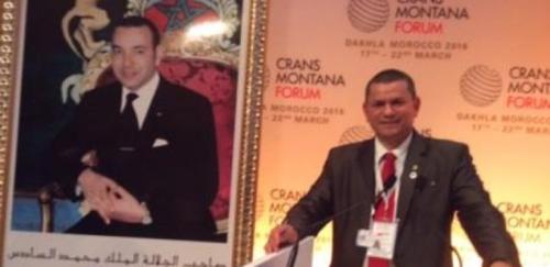 Jean-Paul Carteron, Crans Montana Forum, Pierre-Emmanuel Quirin, Dakhla, Maroc