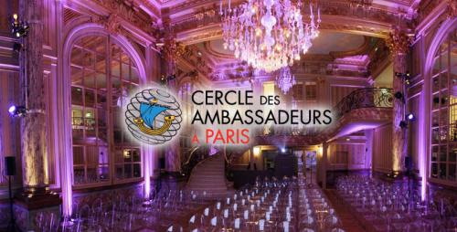 Jean-Paul Carteron, Crans Montana Forum, Cercle des Ambassadeurs à Paris