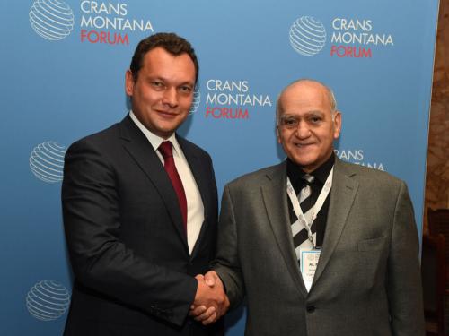 cmf, crans montana forum, oapec, al-naqi, club of ports