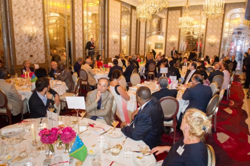 Jean-Paul Carteron, Cercle des Ambassadeurs à Paris, Crans Montana Forum, Pierre-Emmanuel Quirin