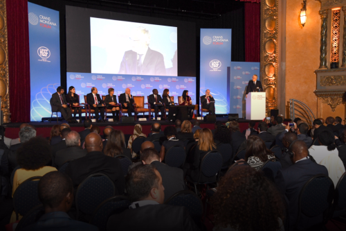 CMF, Crans Montana Forum, Award Ceremony