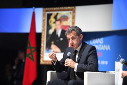 CMF, Crans Montana Forum, Nicolas Sarkozy, Dakhla