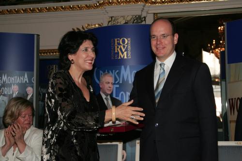 CMF, Crans Montana Forum, Salome Zurabishvili