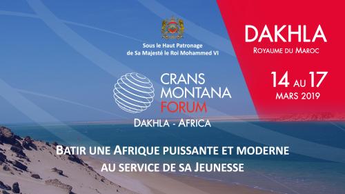 CMF, Crans Montana Forum, Dakhla, Maroc