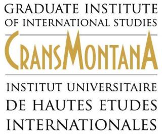 Logo IUHEI CMF