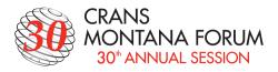 CMF, Crans Montana Forum, Philippe Douste-Blazy, Teddy Riner