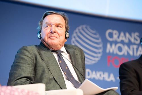 CMF, Crans Montana Forum, Dakhla, Gerhard Schröder
